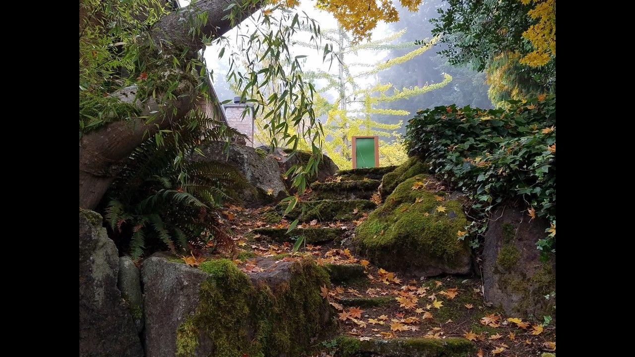 seko garden rear courtyard to side entrance short cut   Seko Family ...