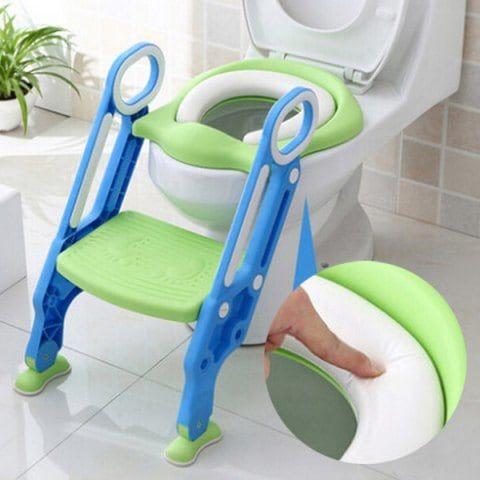 12311 Hard Child Seat Cushion Infant Baby Ladder Folding