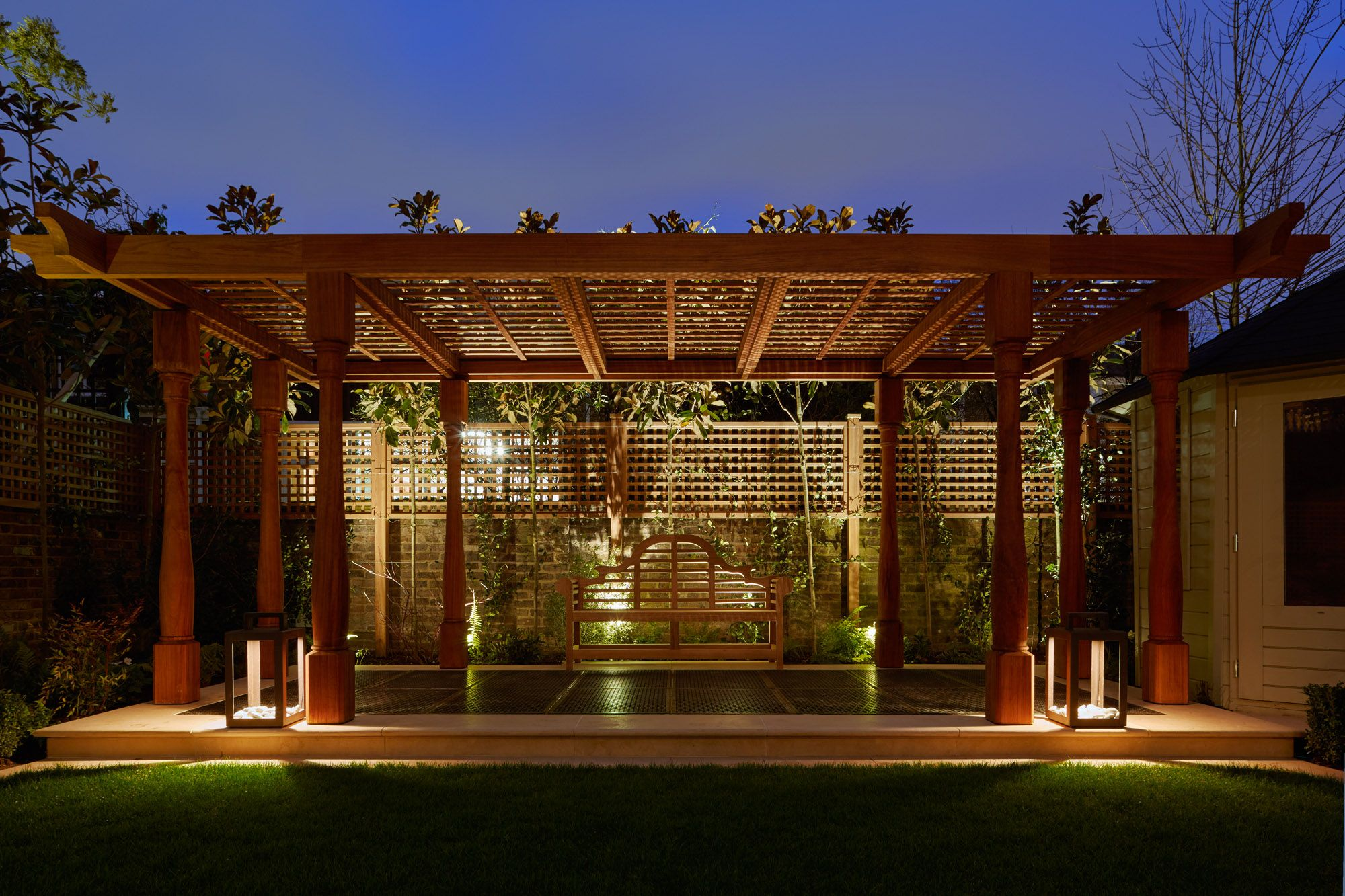 pergola lighting ideas. Bring The Outside In And Impress Your Guests With Stunning Garden Lighting. View A Variety Of Lighting Ideas Along Products To Get Look Pergola D