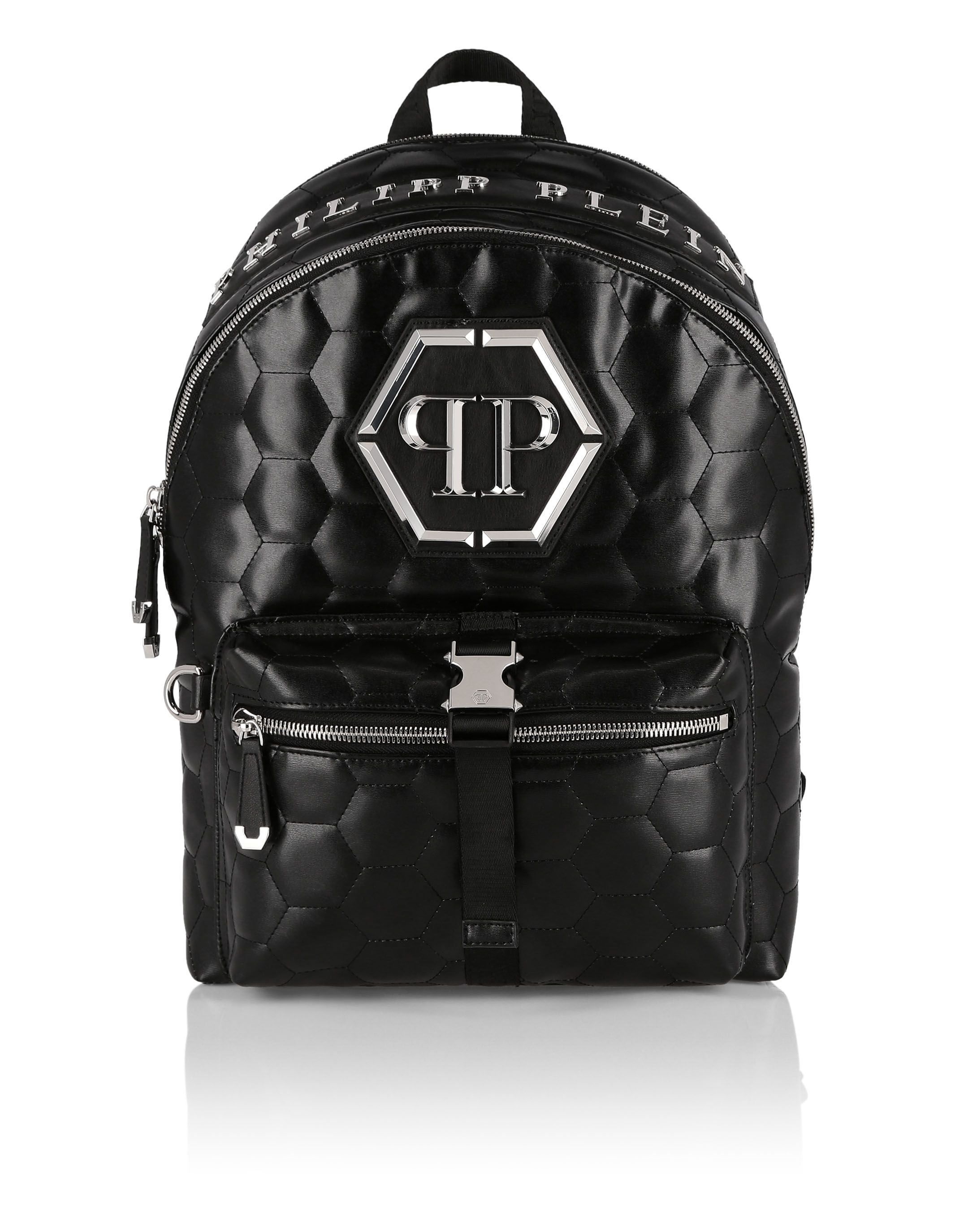 c4b8ac05a46 PHILIPP PLEIN BACKPACK ORIGINAL. #philippplein #bags #lining #polyester # backpacks #cotton