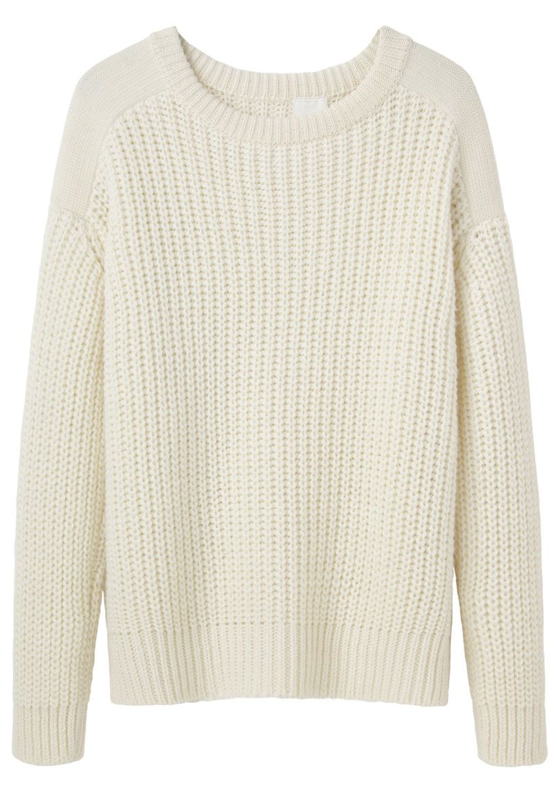 AR SRPLS, Military Sweater in White, $ 391