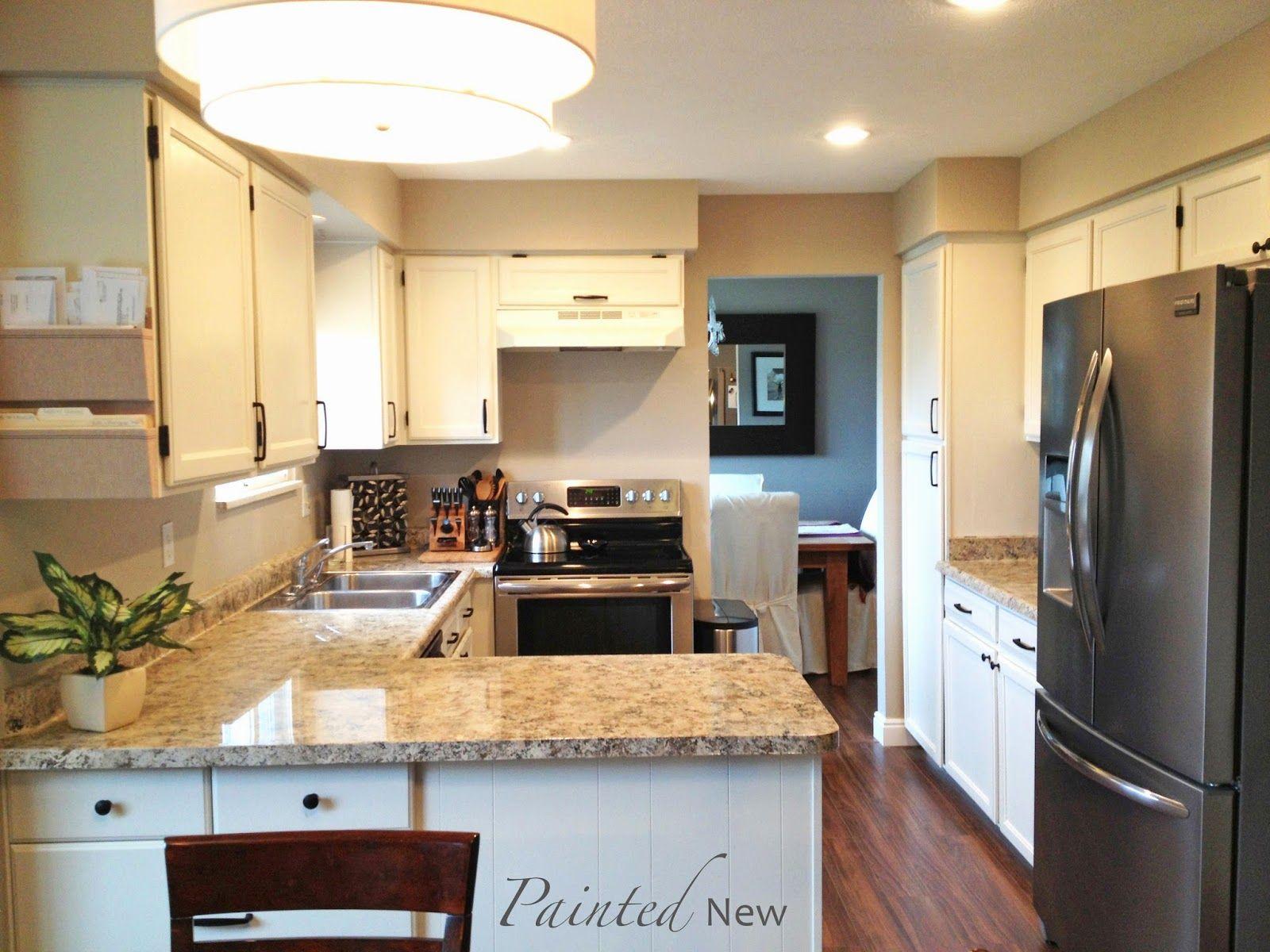 120 Kitchen Cabinet Makeover White Duck By Sherwin Williams Kitchen Diy Makeover Kitchen Cabinets Makeover Diy Kitchen