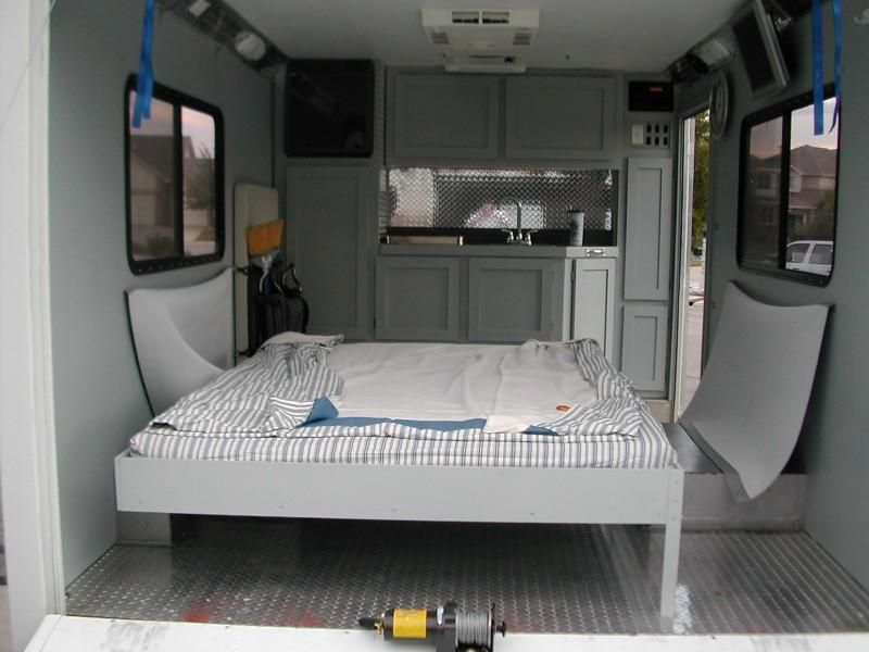 New Enclosed Cargo Trailer Camper Conversion Cargo Trailer  Camper