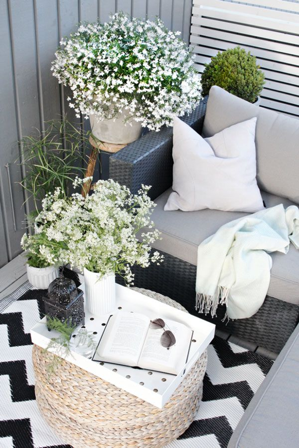 10 Balcony Decor Ideas for the Urban Dweller #smallbalconyfurniture