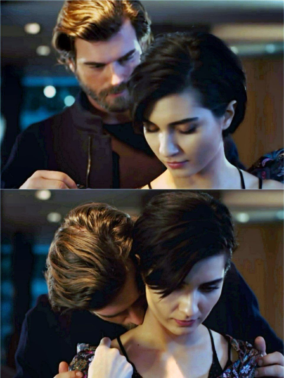 Kivanc Tatlitug As Cesur And Tuba Buyukustun As Suhan In The Turkish Tv Series Cesur Ve Guzel 2016 2017 Actores Telenovela Novelas