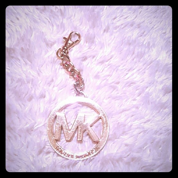 Michael kors keychain Michael kors gold keychain Scratches Michael Kors Accessories Key & Card Holders
