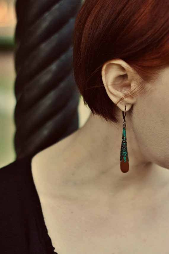 Hey, I found this really awesome Etsy listing at https://www.etsy.com/listing/69889991/boho-bohemian-earrings-autumn-fall