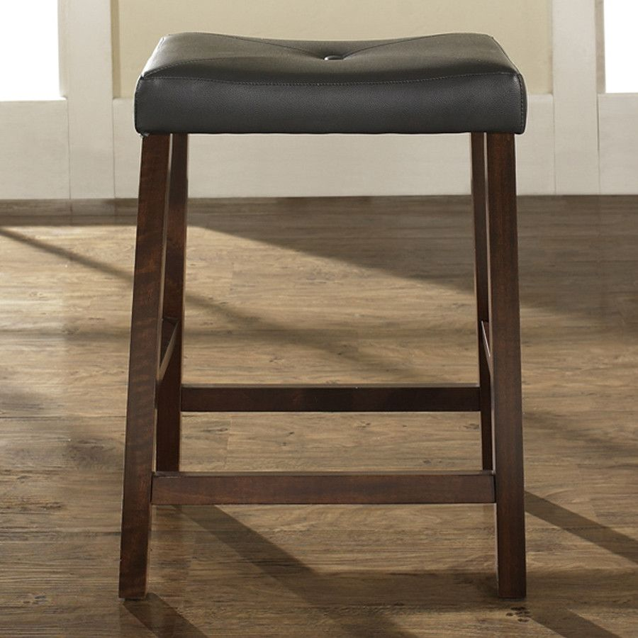 Elegant 24 Upholstered Counter Stools