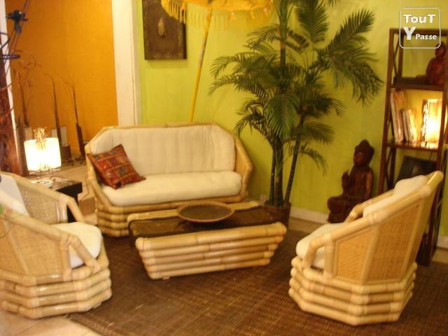 Mobilier En Bambou Decoration Spas Meuble En Bambou Comparez