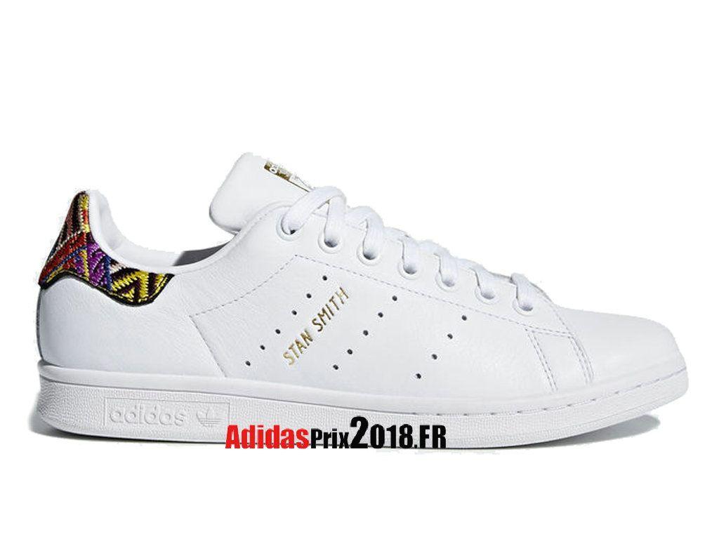 Adidas Originals W Stan Smith Blanc CQ2814 Chaussures Adidas Sportswear  Prix Pour Homme