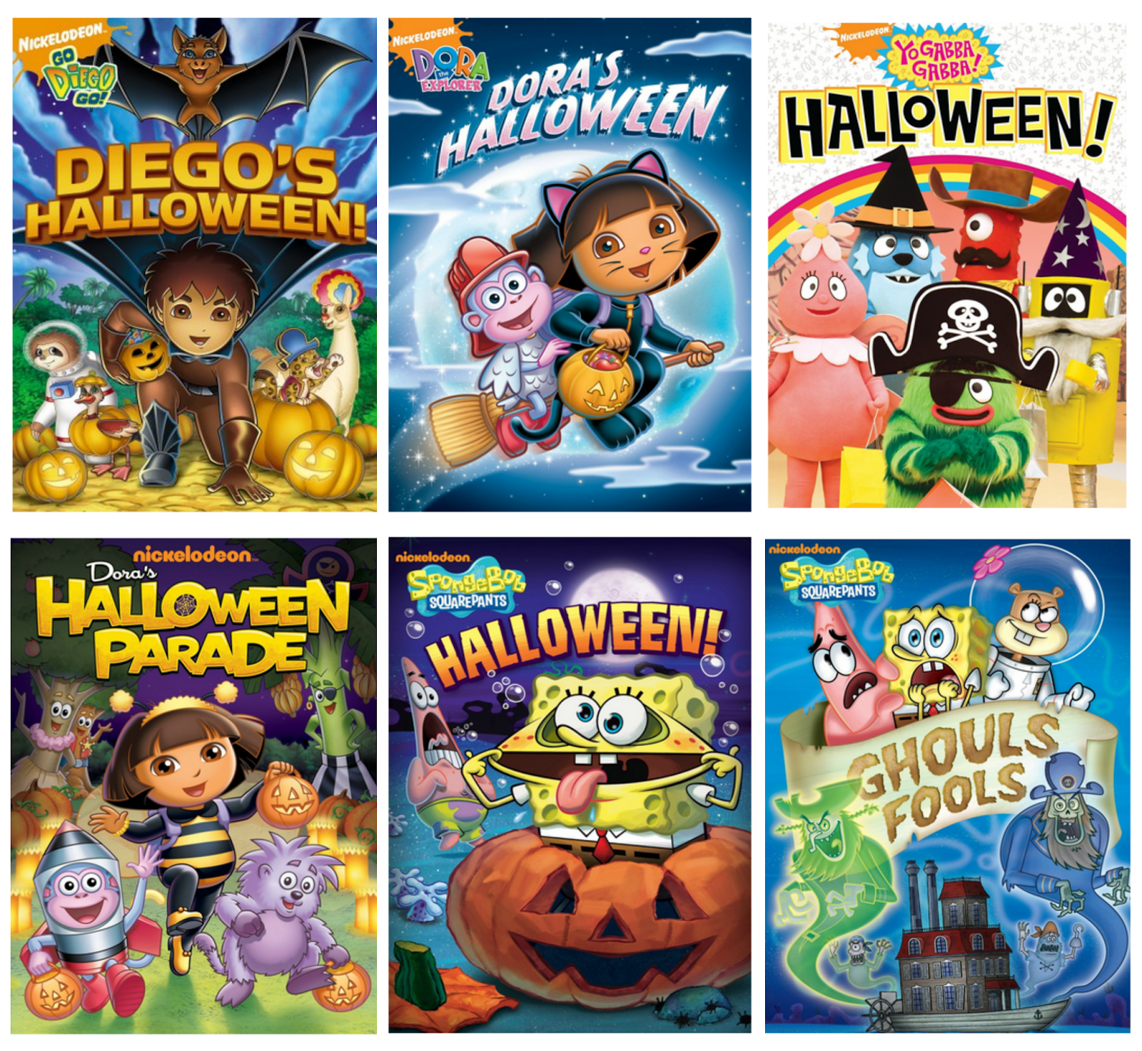Win all 6 Nickelodeon Halloween DVD's in this Roundup Giveaway. US ...