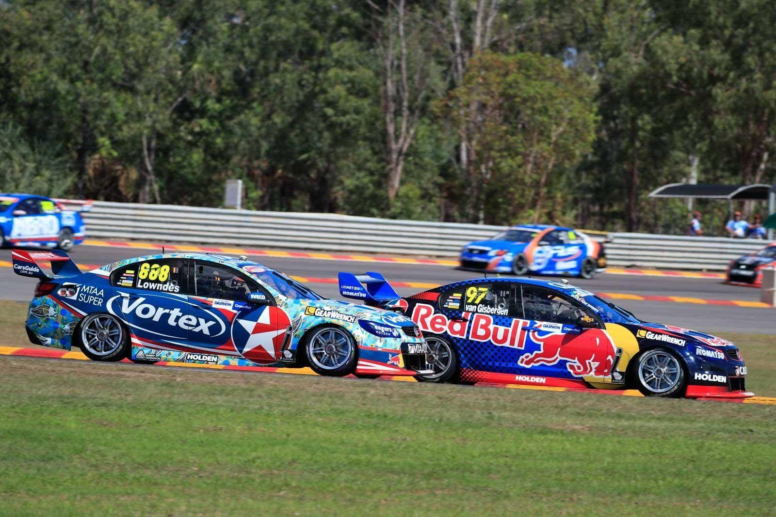 Darwin Triple Crown 2016 V8 supercars, Super cars