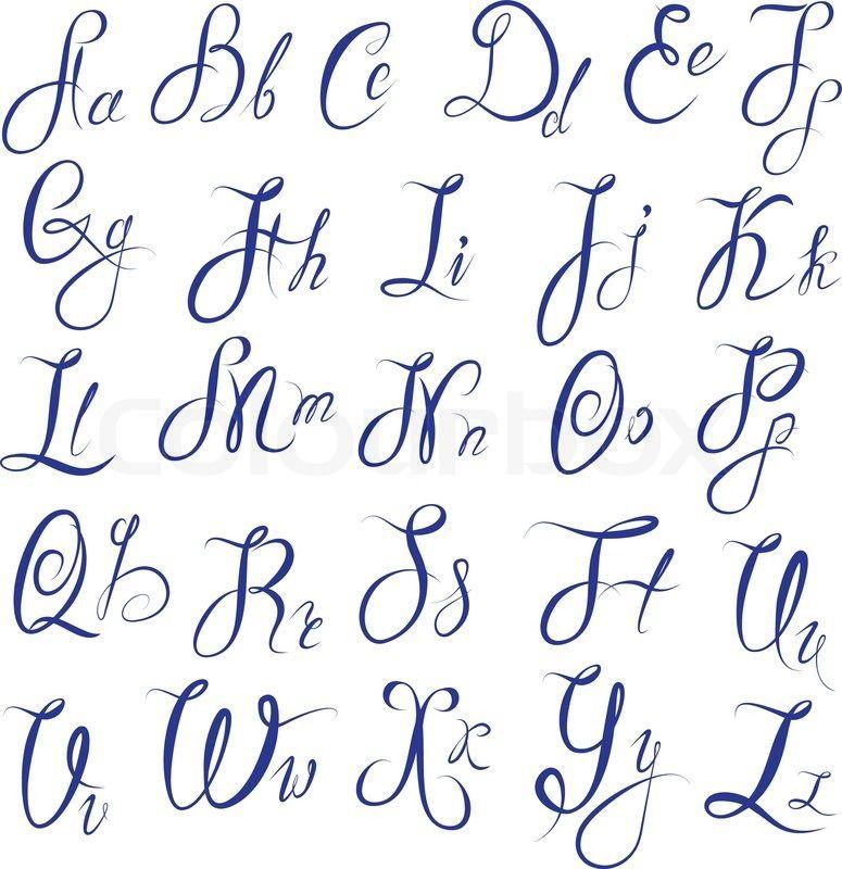 хотели, алфавит на английском красивым почерком картинки меня попросит