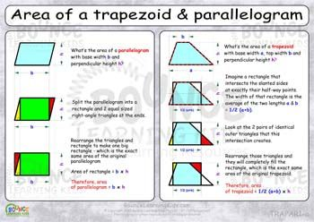 how to find area of parallelogram with vertices