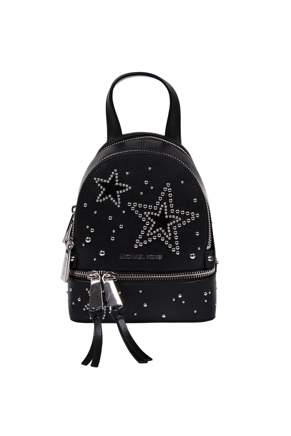 91dd59d0919f ... official store michael kors rhea zip xs backpack. michaelkors bags  leather backpacks b1538 9f07b