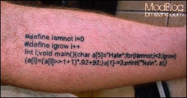 Science Tattoos !!!