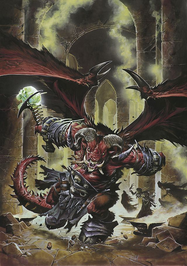 Orcus Demon Overlord Google Search She Kills Monsters