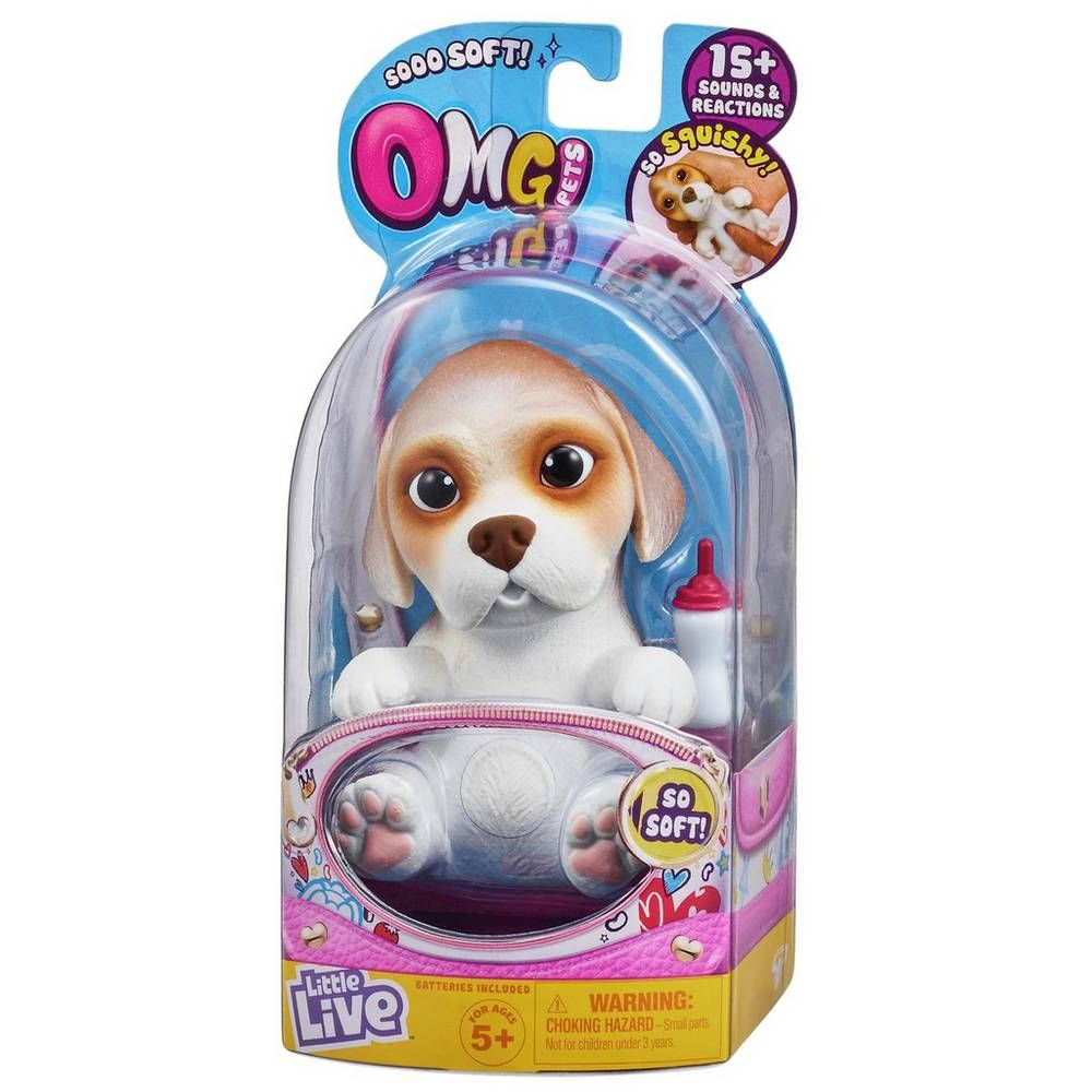 Buy Little Live Omg Pets Playsets And Figures Argos Little Live Pets Beagle Puppy Cute Little Puppies