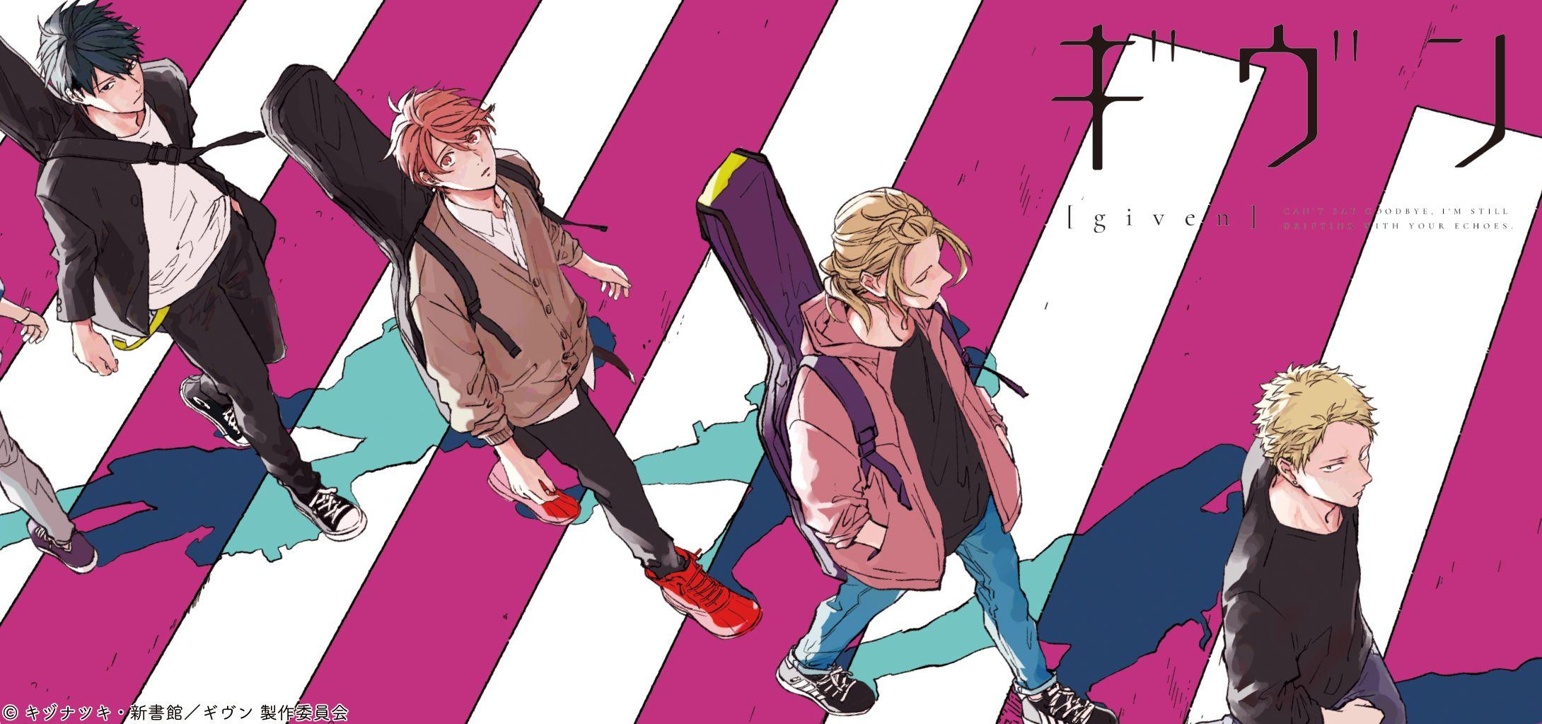 Given anime wallpaper anime anime wallpaper yaoi anime