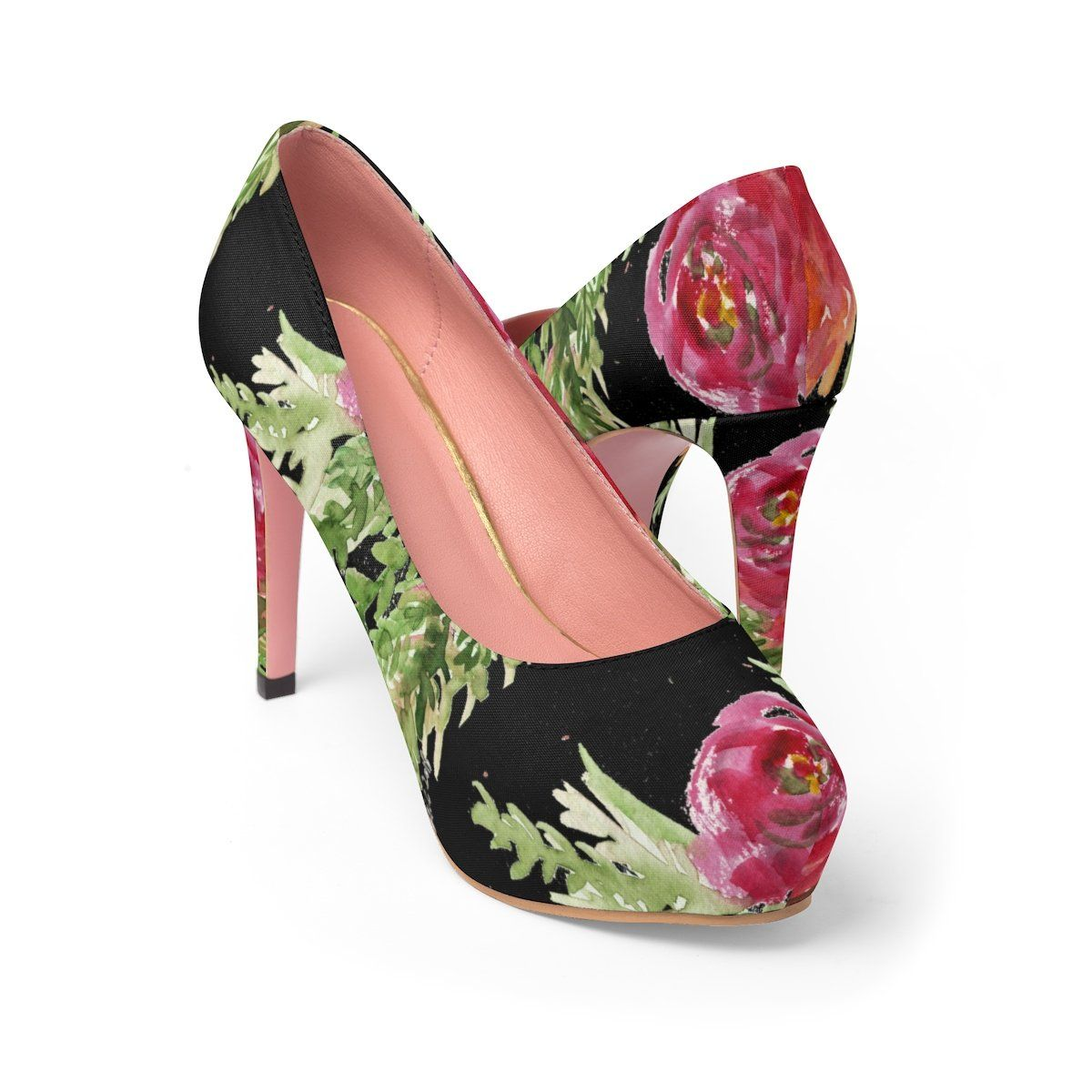 Yui helpful fountain of life red rose floral print womenus