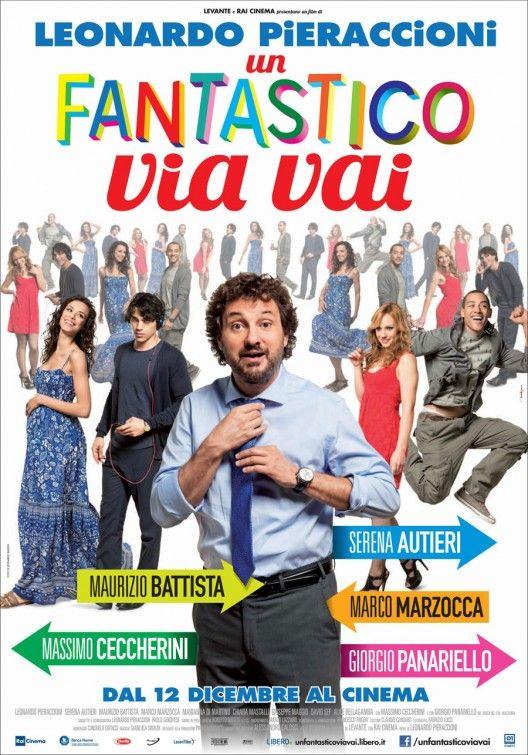 Un Fantastico Via Vai Movie Poster Movie Directors Comedy Movies Cinema Posters