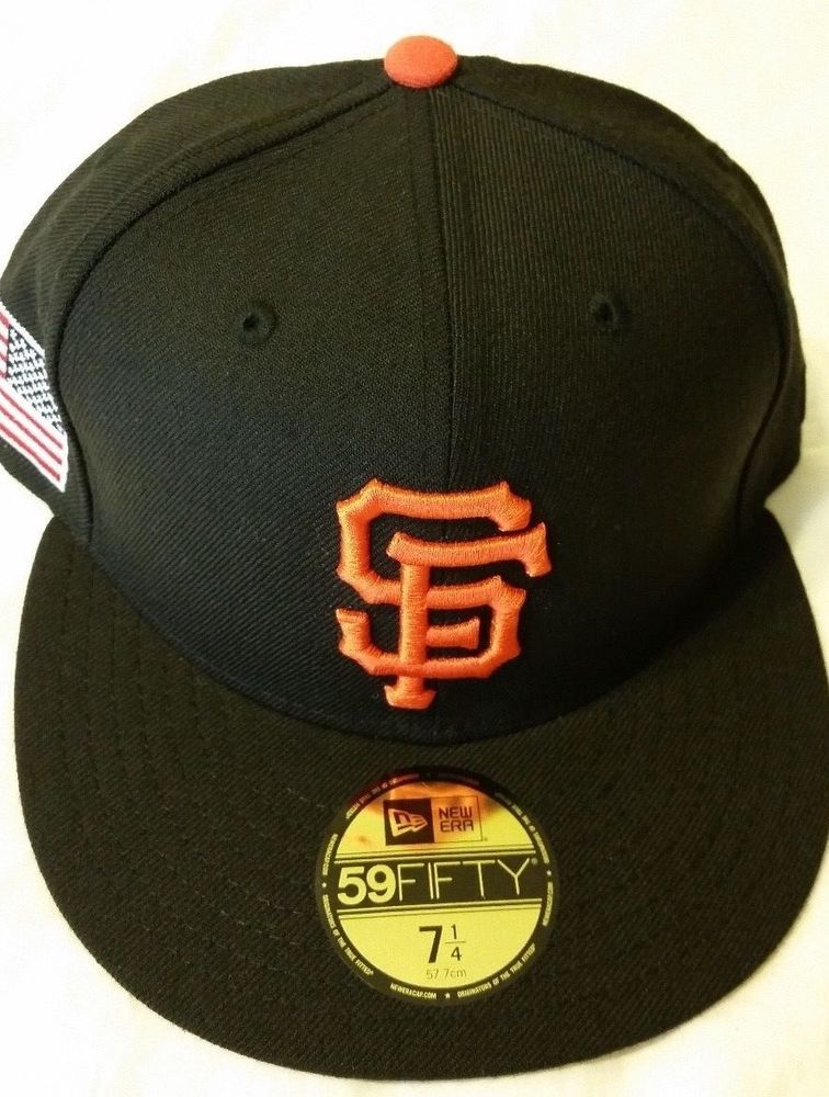 b188f05d9c2b1 New Era San Francisco Giants Flag Patch 59Fifty Fitted Hat (Black) size-7  1 4  fashion  clothing  shoes  accessories  mensaccessories  hats (ebay  link)