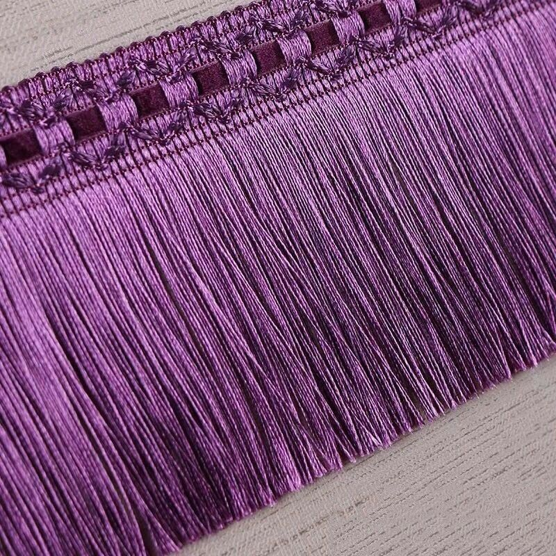 10M 11cm Chainette Tassel Trim Curtain Fringe Ribbon Upholstery Sew Home Vintage #Unbranded #curtainfringe