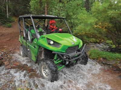Less than two years after the introduction of their trail loving Teryx4 Side x Side, Kawasaki has given it a round of updates designed to increase its performance, comfort, and curb appeal. After our first ride over some of the toughest terrain in Utah, we can say it was a success