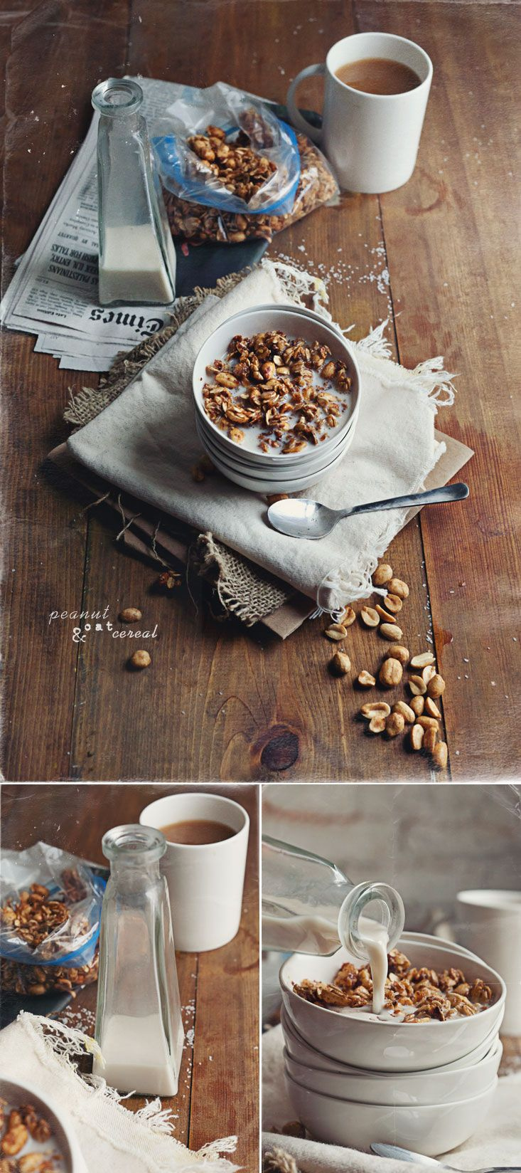 Peanut oat cereal homemade granola i would rather have walnuts peanut oat cereal homemade granola i would rather have walnuts and almonds than peanuts but the overall recipe look simple and healthy ccuart Image collections