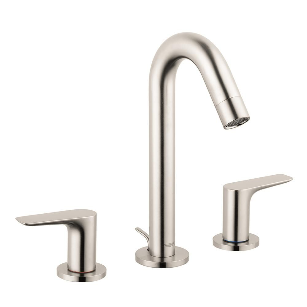 Hansgrohe Logis 150 8 In Widespread 2 Handle Bathroom Faucet With