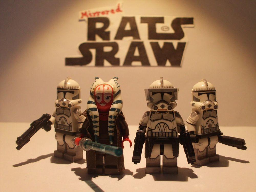 Lego Star Wars minifigures - CloneTrooper Custom DECEMBER SPECIAL 4 ...