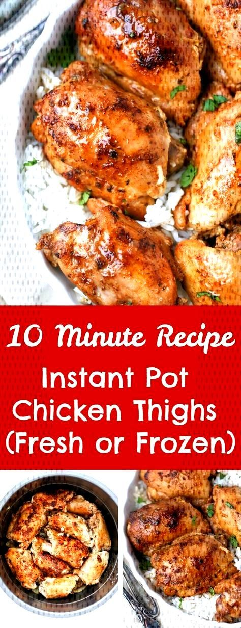 These Chicken Thighs are ready in minutes. They're so juicy, full of flavor, and they are very easy