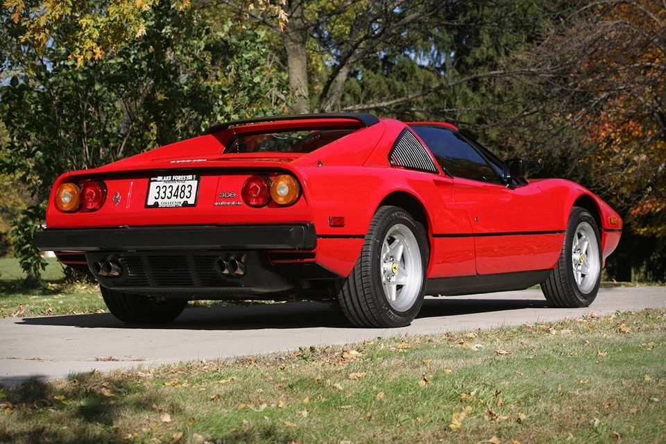 Magnum P.I. Ferrari 308 GTS | Ferrari, Cars and Wheels