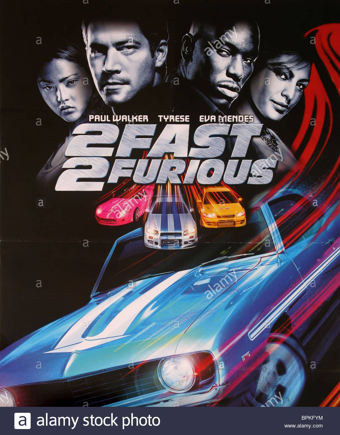 2 Fast 2 Furious 2 Fast 2 Furious 2003 U S Movie Poster 2g This Is Us Movie Ludacris Mendes