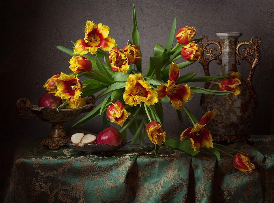 Фотонатюрморты цветы для фотопечати