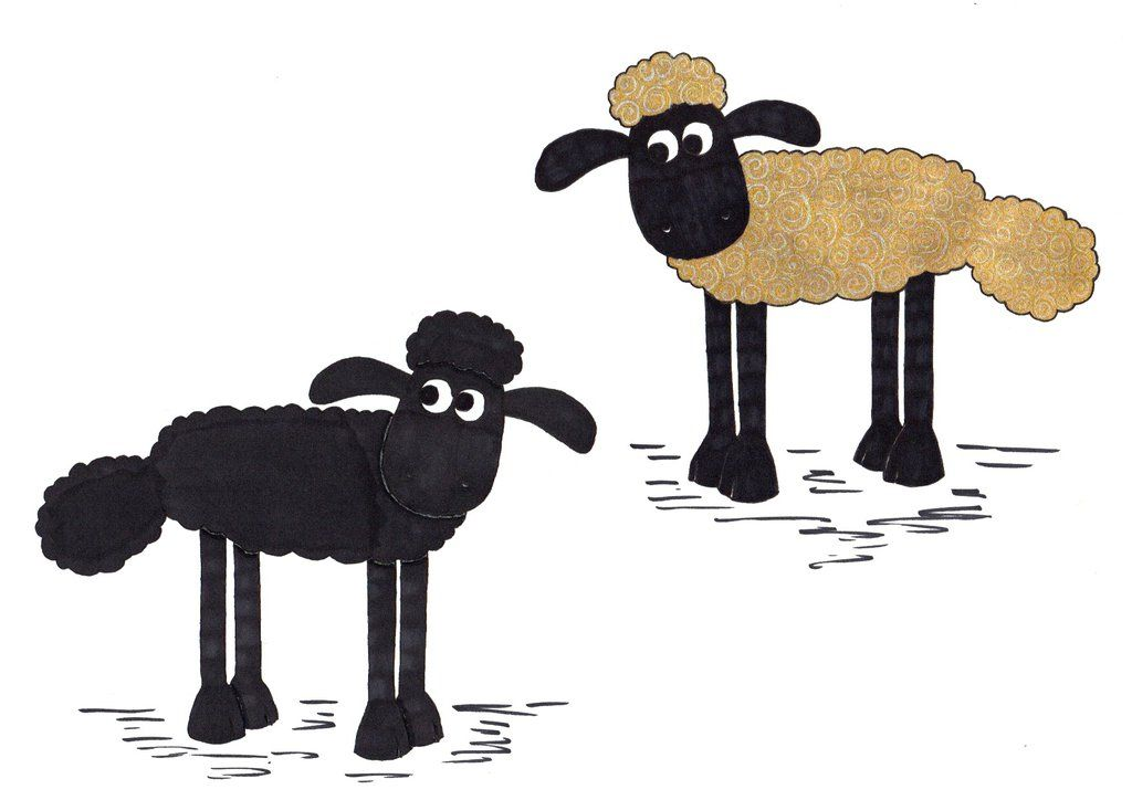 Shaun - The Black Sheep and The Golden Fleece by artjuggler | Shaun ...