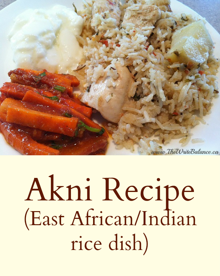 Akni recipe rice dishes and dinners akni recipe forumfinder Gallery