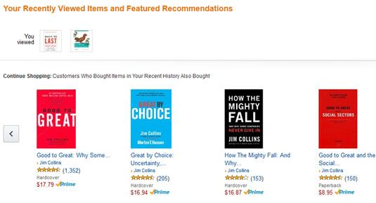 Amazon recently viewed and recommendations | UX Design | Ui design