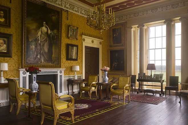 Historic Home In Scotland Old Mansions Interior Greek Revival Neoclassical Interior