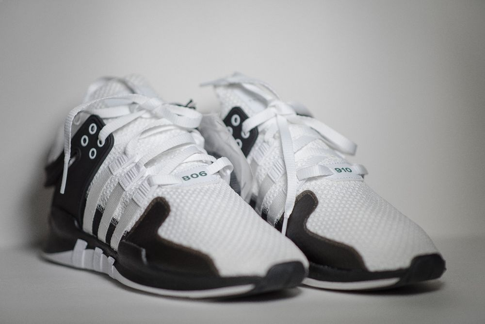 minusválido Independiente solo  ADIDAS EQT SUPPORT ADV 91-16 --- LIMITED to only 910 pairs size 11.5 BLACK  WHITE | Adidas eqt, Sneakers for sale, Mens casual shoes