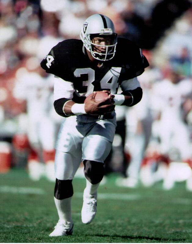 Bo Jackson Bo Jackson Oakland Raiders Auburn Tigers