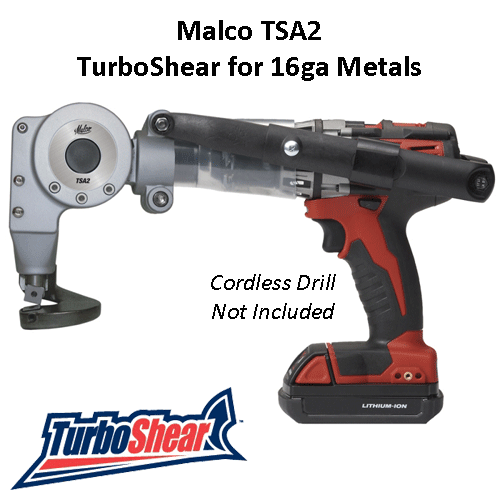 Malco Turboshear Tsa2 For 16ga Metals In 2019 Sheet