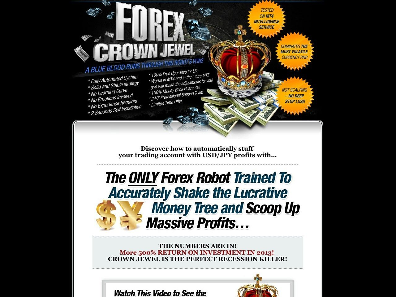Pin By Forex Trading Software On Free Forex Trading Robot Crown