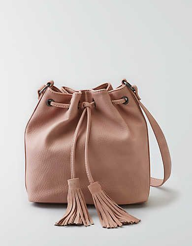 1a47e8d5f017 AEO Bucket Bag , Pink | American Eagle Outfitters | Bags | Bags ...