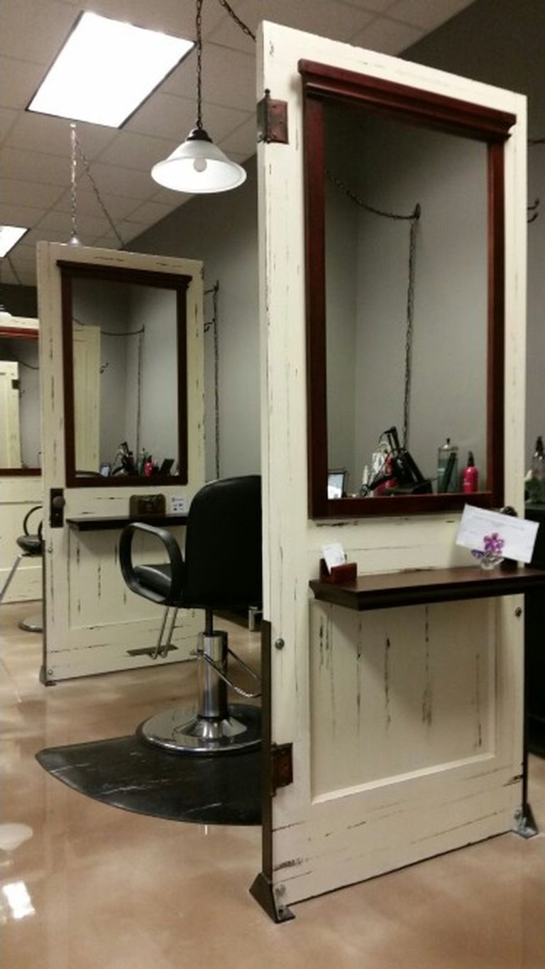 Amazing Salons 50 Hair Salon Ideas Furniture Inspiration Salons Bestsalons Amazingsalons Salonideas Ideas Rustic Salon Salon Decor Hair Salon Design
