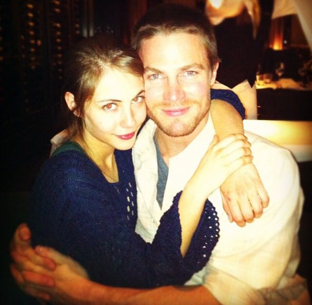 Thea and Oliver Queen