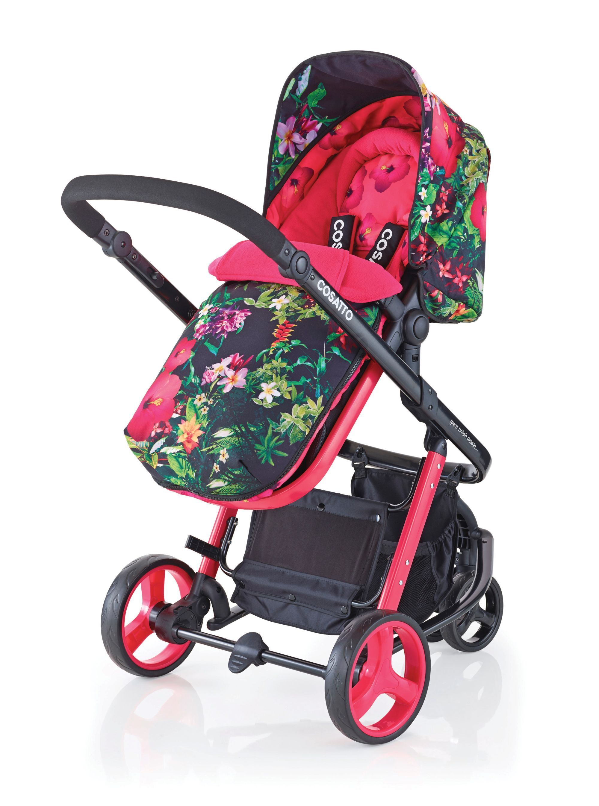 Cosatto woop 2 in 1 pram and pushchair tropico