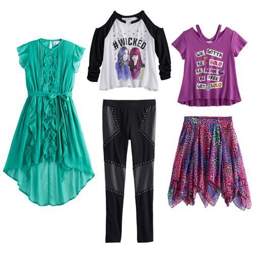 A Brand New Line Of Disney Descendants 2 Clothing For Girls Is Now