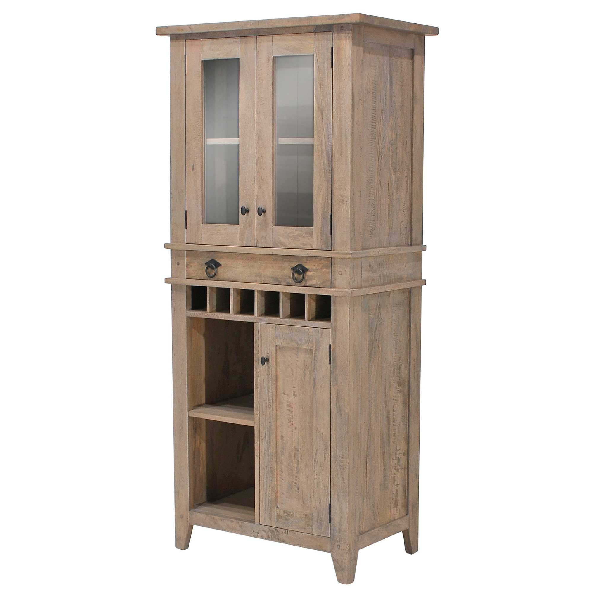 The Stunning Ruskin Kitchen Display Cabinet Is Attractive And .