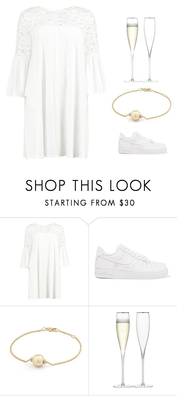 """dimission"" by theresaandersen on Polyvore featuring Boohoo, NIKE, David Yurman and LSA International"